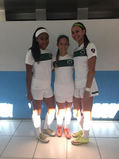 Allison, Taylor, and Maya called to ODP Region 3 games in Costa Rica