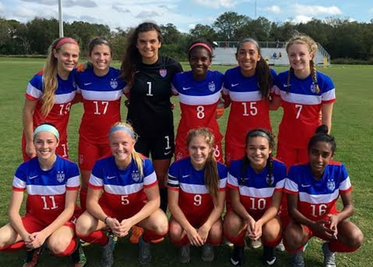 Laurel Ivory (GK) Stars in U.S National Team Debut v. England