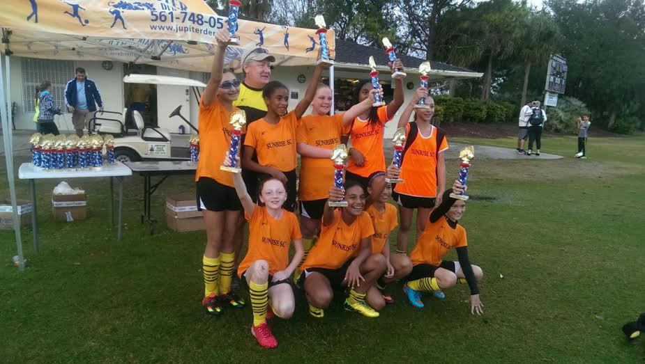 Sunrise SC 03/04 Wins Jupiter Tournament