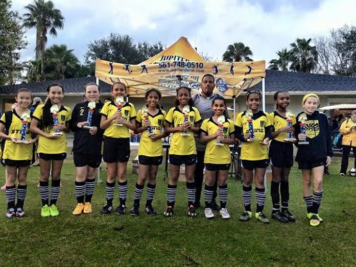 Sunrise SC 04/05 Wins Jupiter Tournament