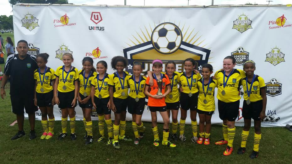 Sunrise SC 04/05 Black Wins United Cup
