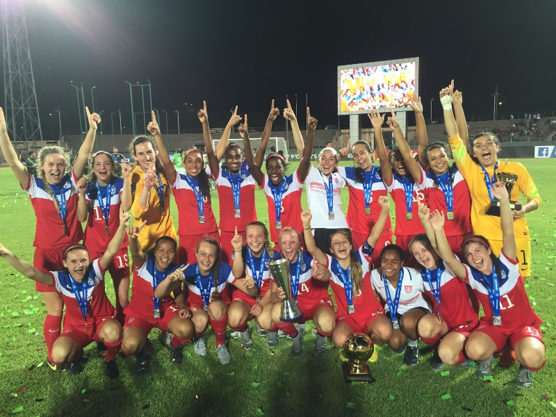 Laurel Ivory (GK) Wins Golden Glove as U.S. U17 win Concacaf Tournament