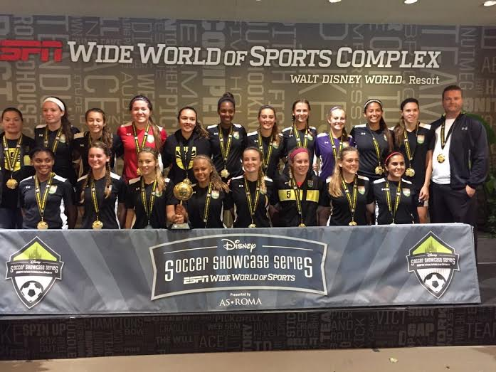 Sunrise Sting 98/99 Wins Disney Showcase Championship