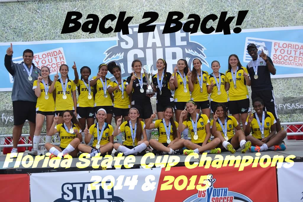 Sunrise 00/01 Sting Repeats as State Champions